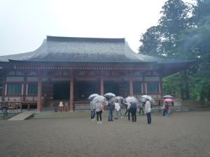 毛越寺(モウツウジ)本堂